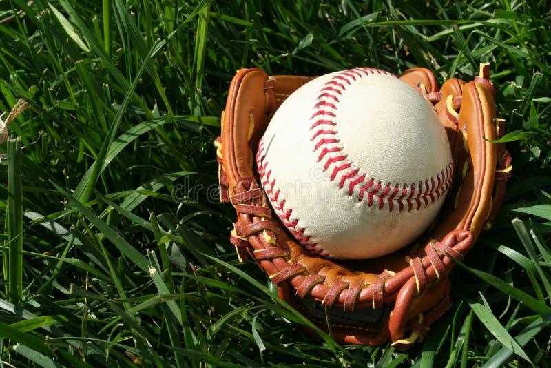 Baseball and Glove royalty free stock photos