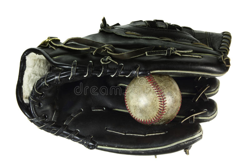 Baseball Glove and Ball royalty free stock images