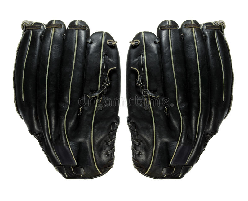 Baseball Gloves royalty free stock images