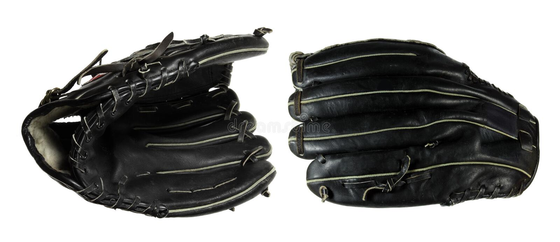 Baseball Gloves stock photos