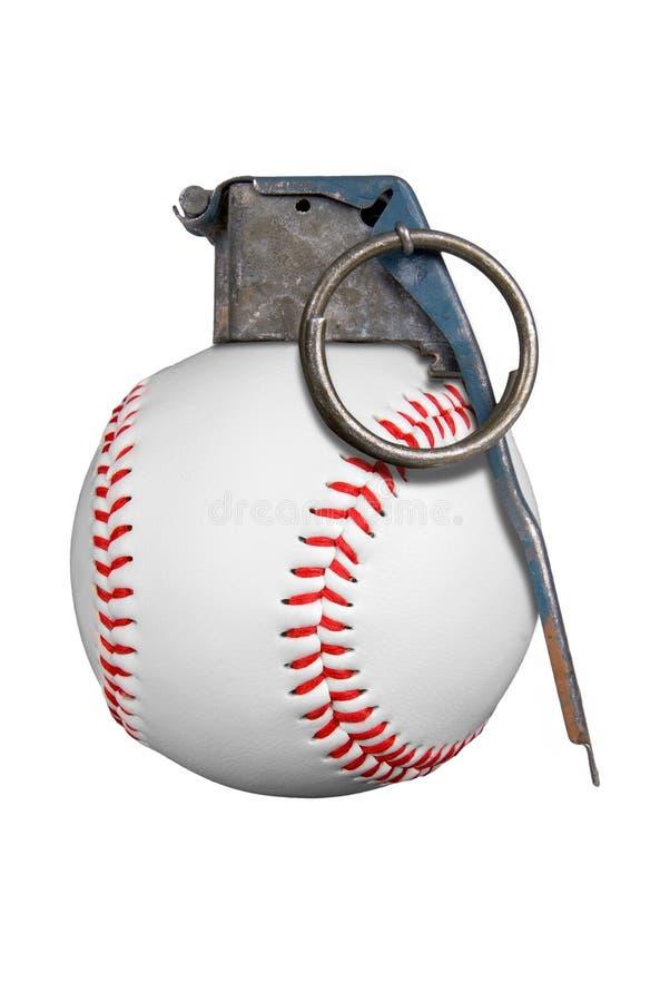 Baseball grenade stock photography