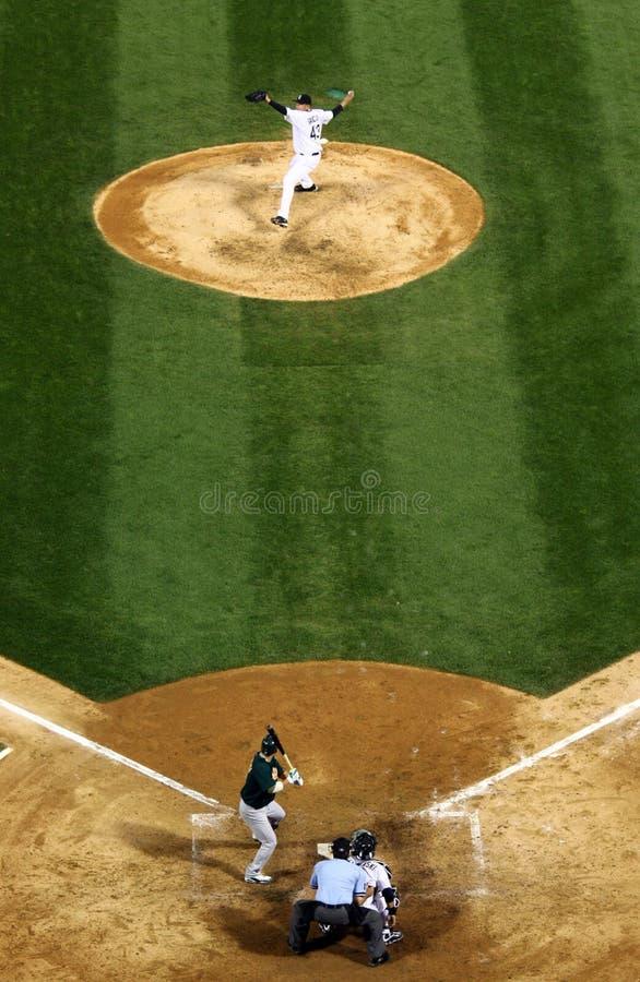 baseball här breddsteg s arkivbild