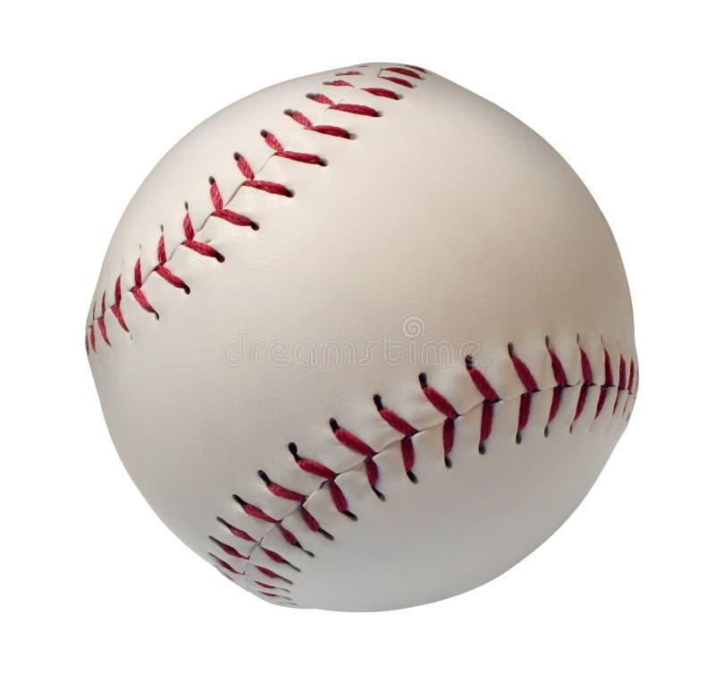 Baseball lub Softball Isoltated zdjęcia stock