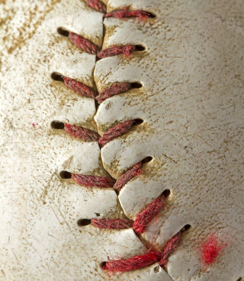 Baseball macro stock photos