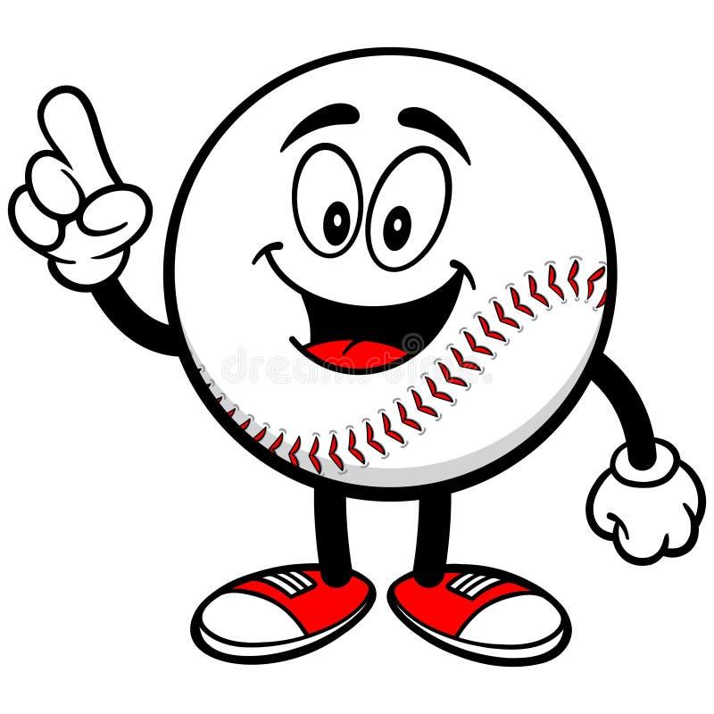 Baseball Mascot Talking stock image