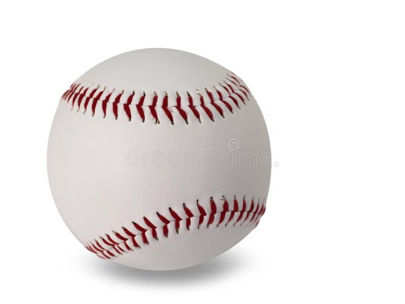 Baseball na białym tle Ścinek ścieżka zdjęcia stock