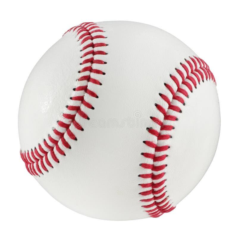 Baseball odizolowywający na białym tle z ścinek ścieżką obrazy royalty free