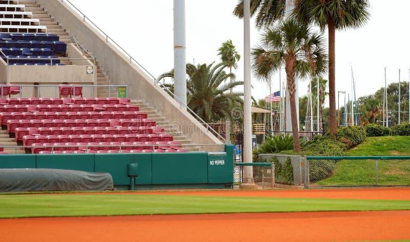 baseball park obraz stock