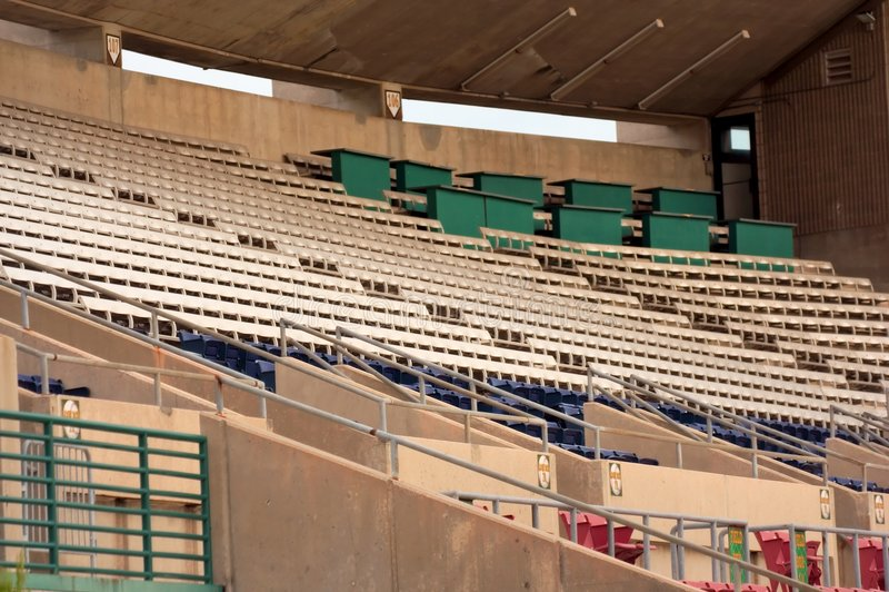 baseball park fotografia royalty free