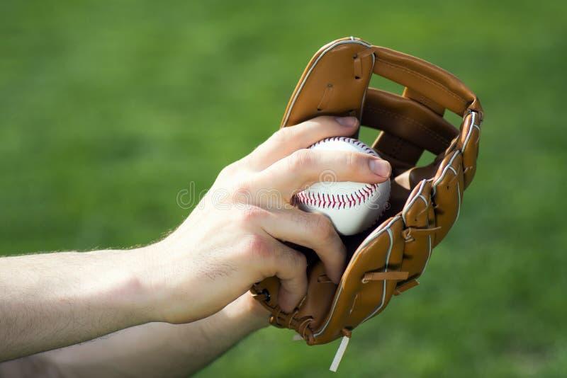 Baseball piłka i rękawiczka zdjęcie royalty free