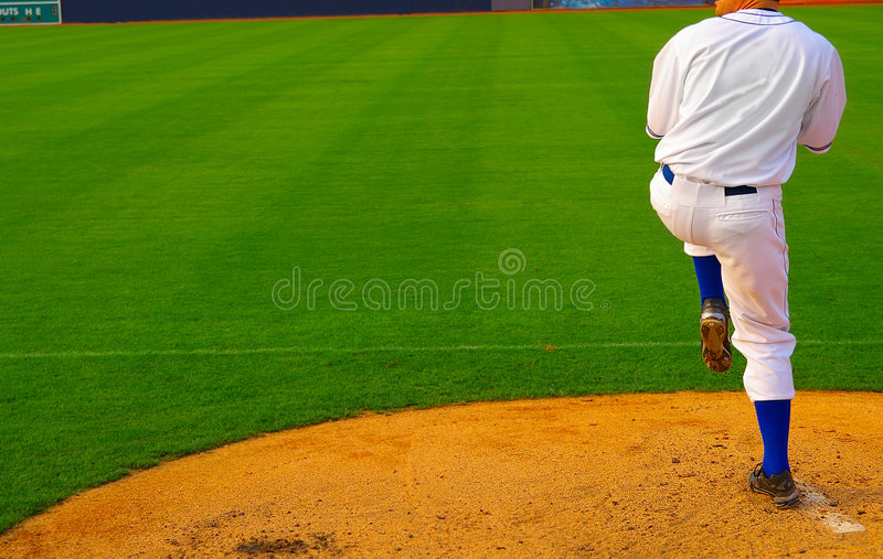 Download Baseball pitcher stock image. Image of athletic, baseball - 2715587