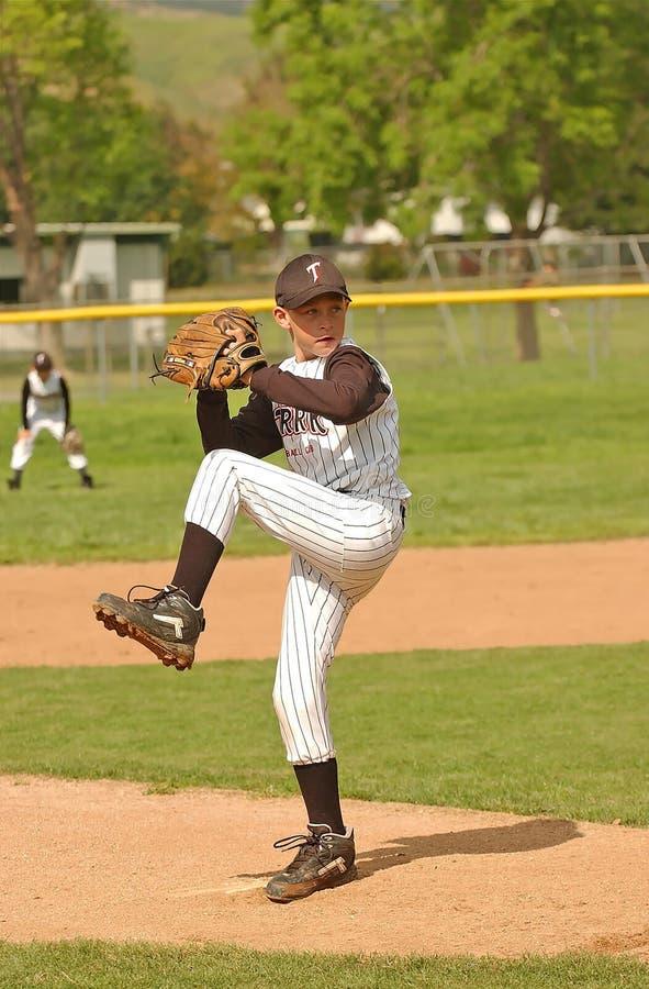 Baseball Pitcher Stock Photo