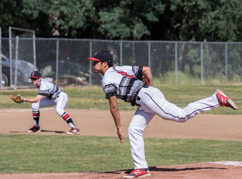Baseball Pitcher stock images