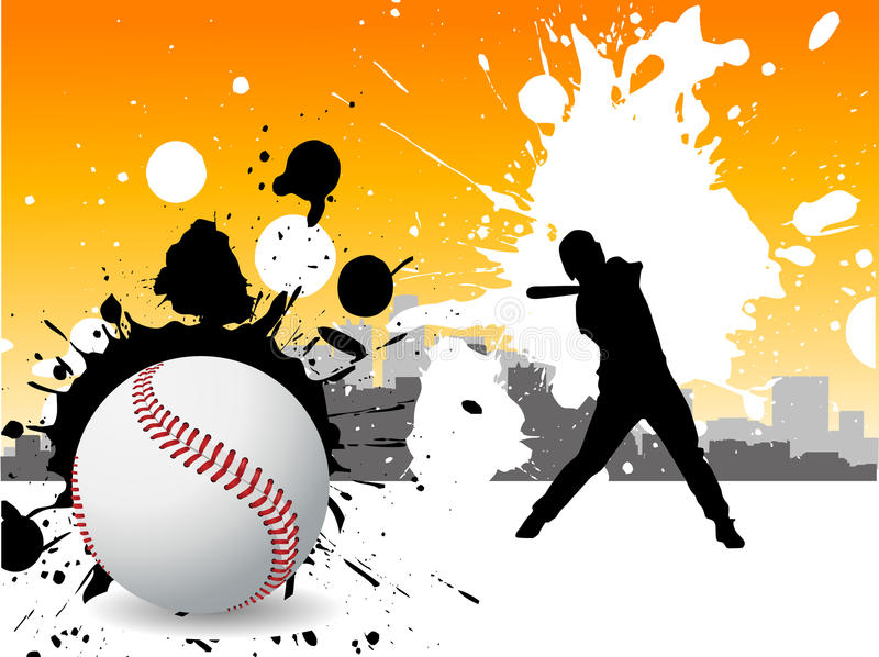 Download Baseball player stock vector. Image of team, pitch, equipment - 15826563