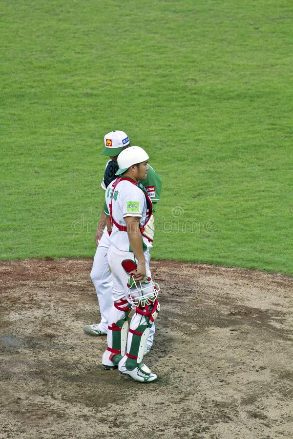 Download Baseball player editorial stock photo. Image of cpbl - 26556558