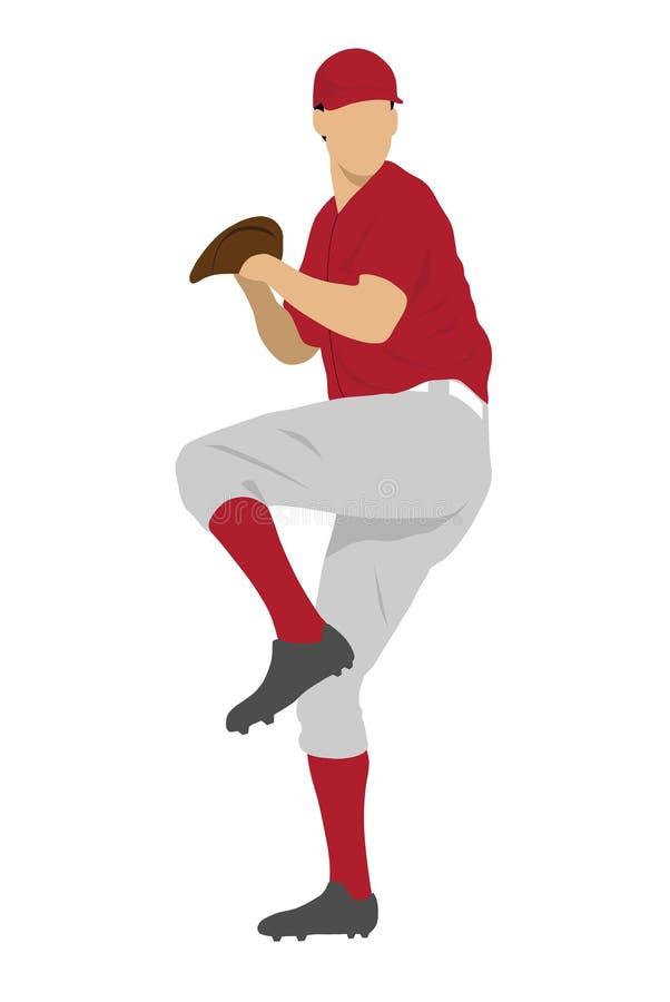 Download Baseball player stock illustration. Image of player, ball - 6289673