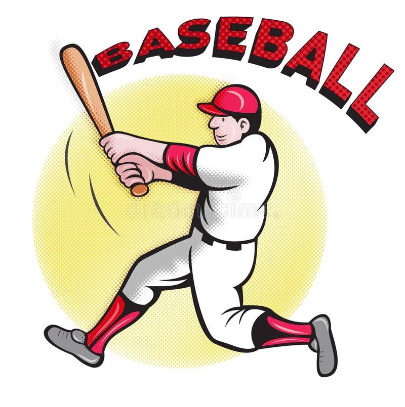 Download Baseball Player Batting Cartoon Royalty Free Stock Image - Image: 19895346