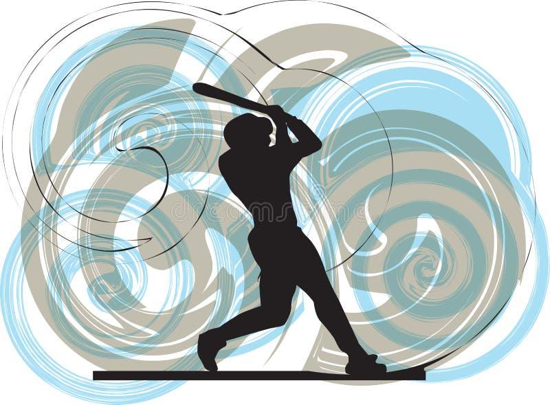 Download Baseball Player. Illustration. Stock Vector - Image: 15416271