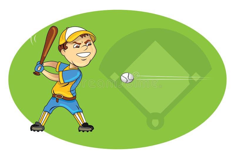 Download Baseball player swinging stock vector. Image of illustration - 25675053