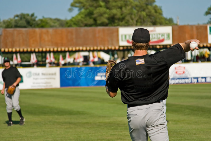 Download Baseball Players stock photo. Image of lawn, ball, line - 2682620
