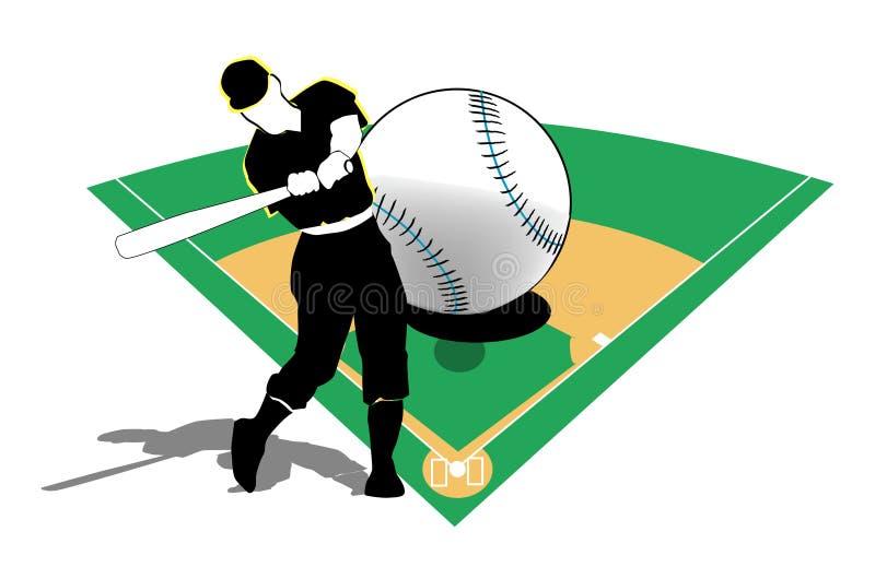 Baseball Playing royalty free stock photography