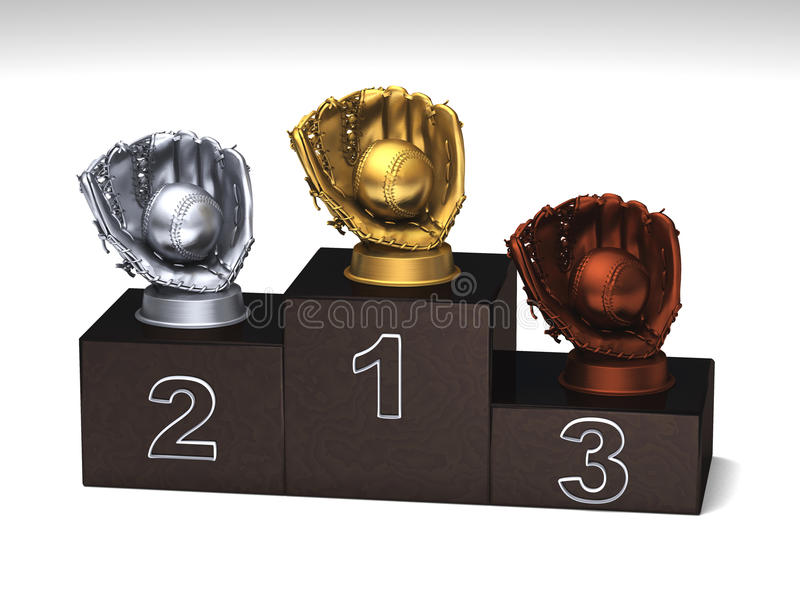 Download Baseball Podium Royalty Free Stock Photography - Image: 14192267