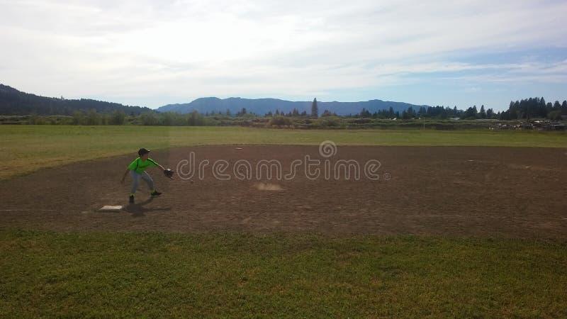 Baseball praktyka zdjęcia royalty free