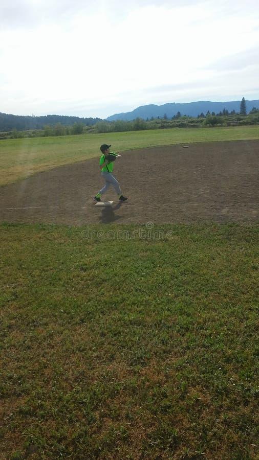 Baseball praktyka zdjęcie stock