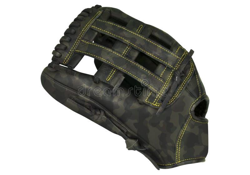 Baseball rękawiczka odizolowywająca na bielu zdjęcia royalty free