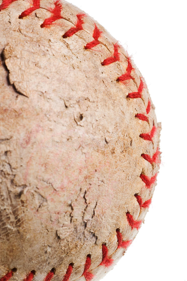 Download Baseball With Red Stitching Stock Image - Image: 10134031