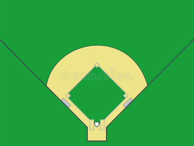 Baseball Sätter In Arkivfoto