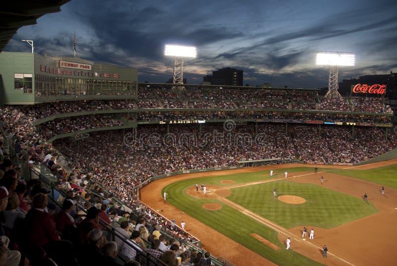 Baseball's Fenway park, Boston, MA. USA royalty free stock photos
