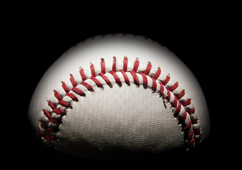 Download Baseball in the shadows stock image. Image of space, ball - 23827343