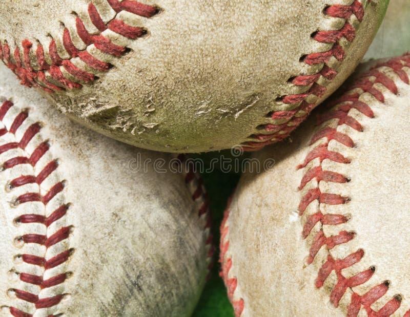 baseball som gott används arkivbilder