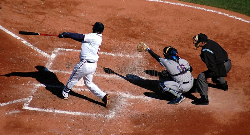 Baseball-Spiel stockfotografie