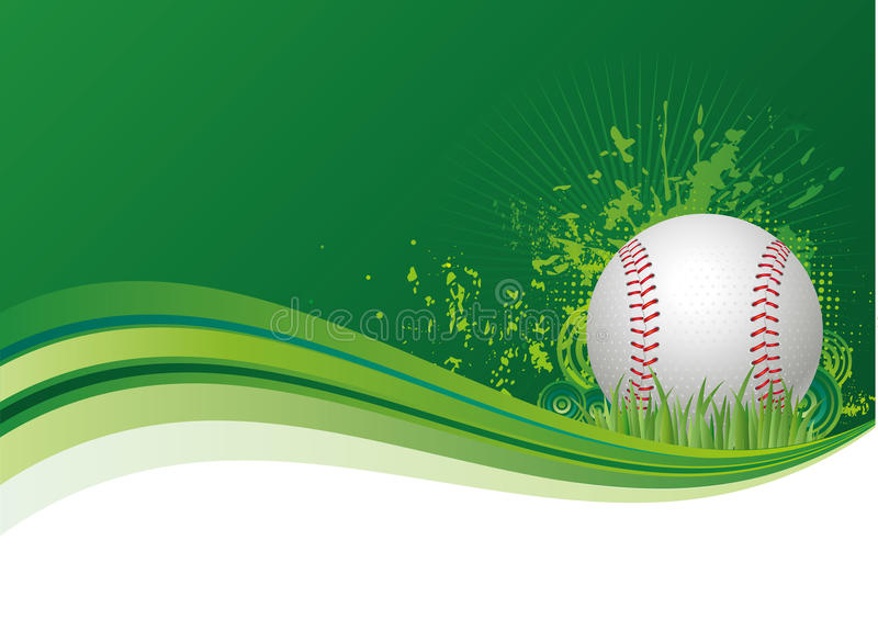 Download Baseball sport background stock vector. Image of green - 15449031