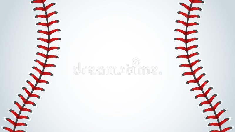 Baseball sport, bakgrunder vektor illustrationer