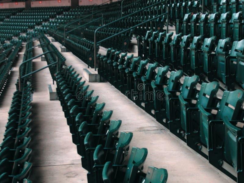 Baseball-Stadions-Sitze lizenzfreies stockbild