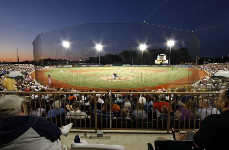 Baseball stadium royalty free stock photos