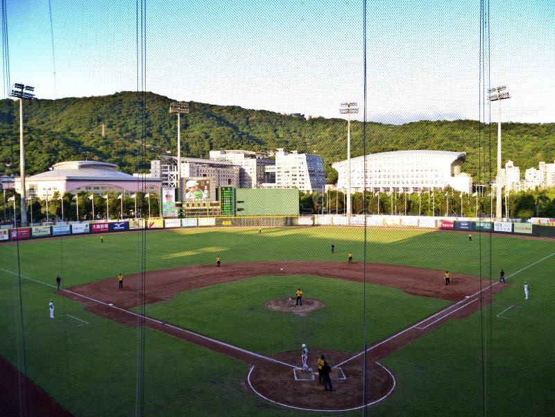 Baseball Stadium Editorial Photo