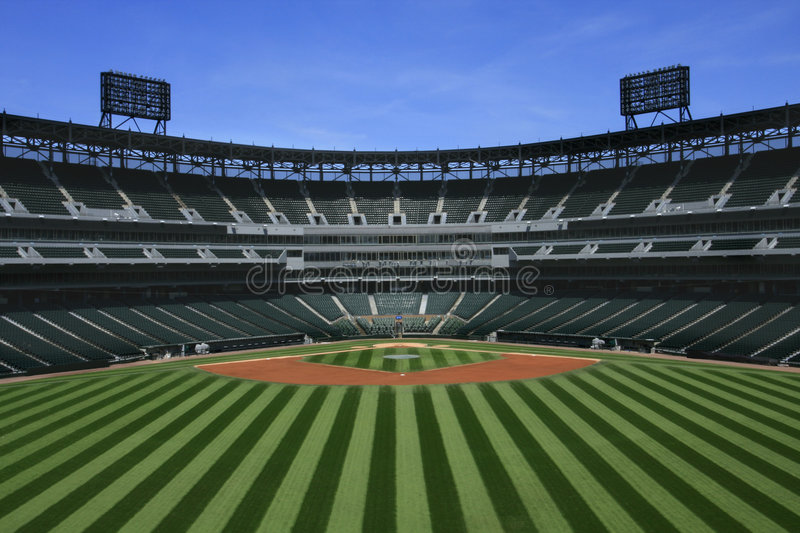 Baseball Stadium stock images