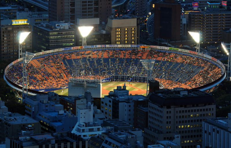 Baseball stadium royalty free stock image