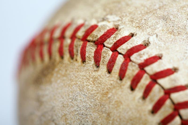 Baseball stich stock photo