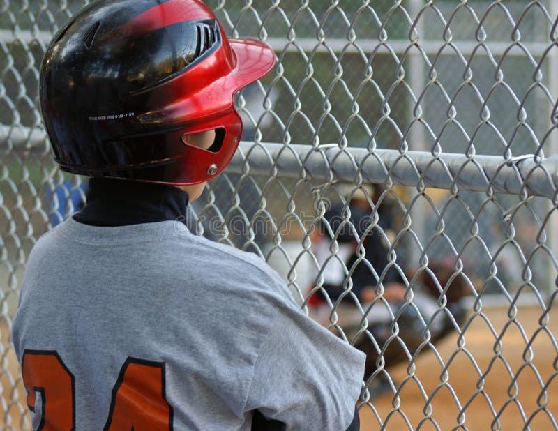 Baseball - sulla piattaforma immagini stock