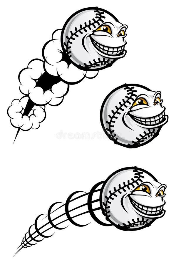 Baseball symbol stock illustration