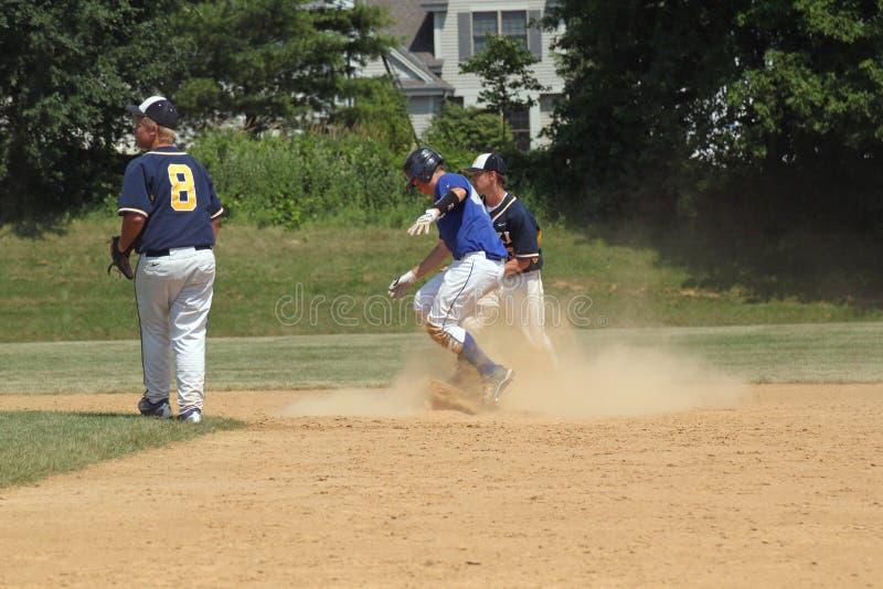 baseball szkoła średnia zdjęcie royalty free