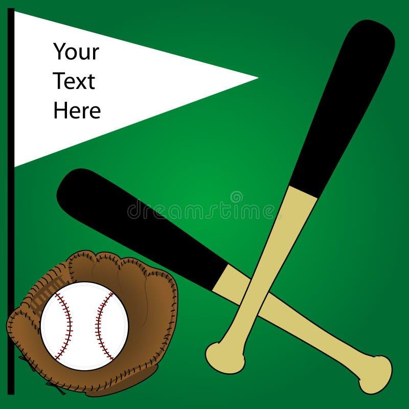 baseball tło ilustracja wektor