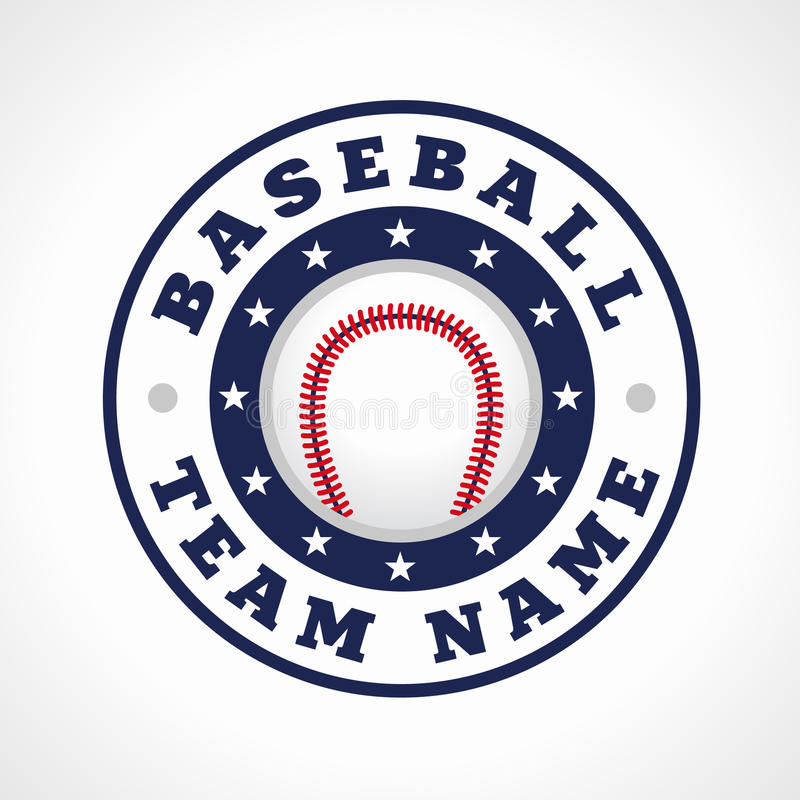 Baseball team logo stock vector. Illustration of equipment - 56940762