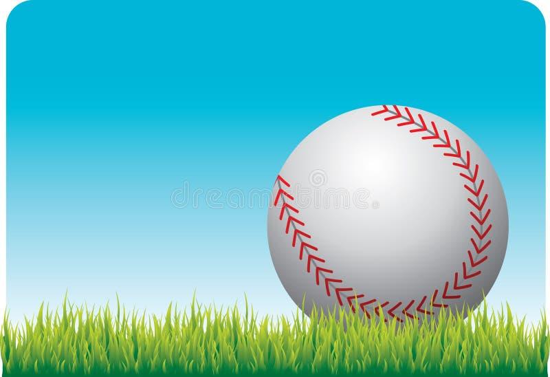 baseball trawa ilustracja wektor