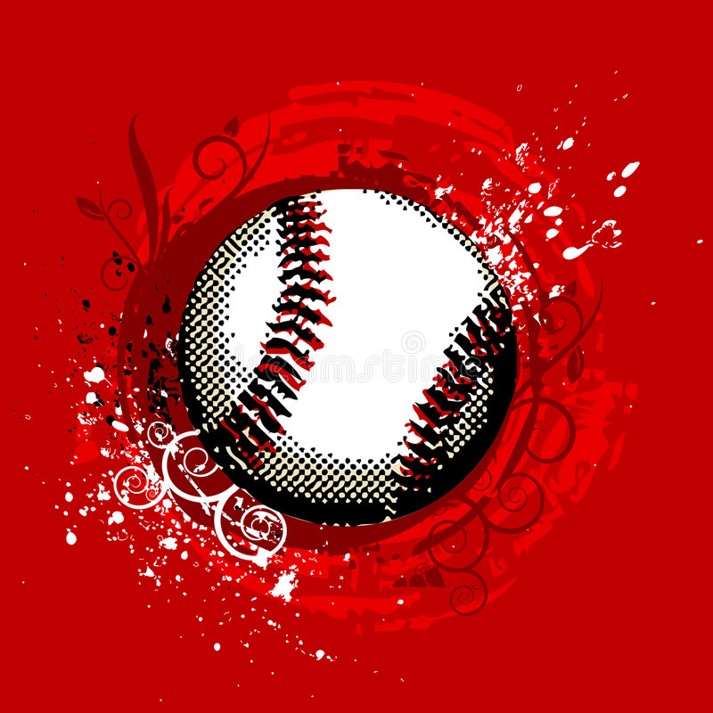 Baseball vector stock illustration